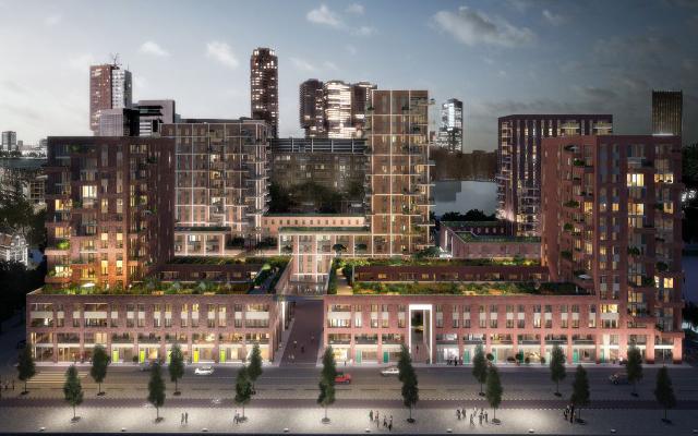 447 Appartementen Rotterdam Groene Kaap