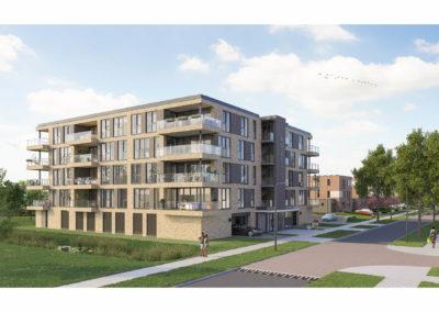 24 Appartmenten en 12 woningen Leerdam Kristalpark