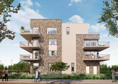 24 Appartementen Almere Stadspaleizen