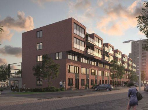 25 Appartementen en 25 Woningen Ridderkerk De Stoere Kade