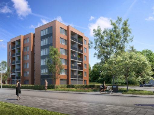 41 appartementen Kasteel Wolfraathstraat Maastricht