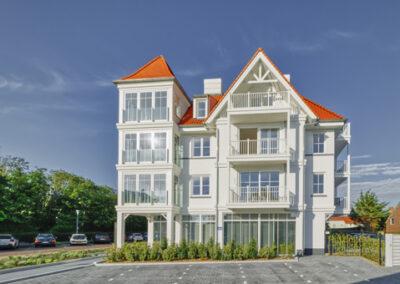8 appartementen Cadzand Bad Villa Deauville