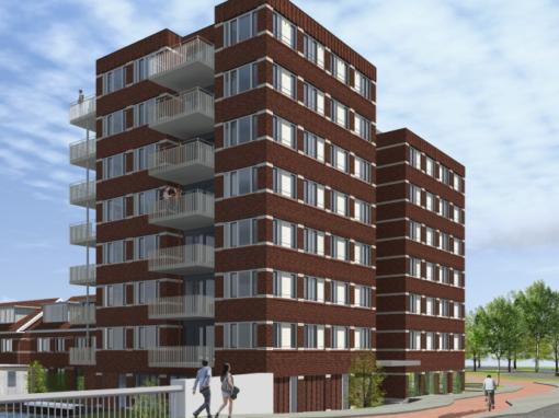 26 appartementen + 6 woningen, Leiden, Haagse Schouw