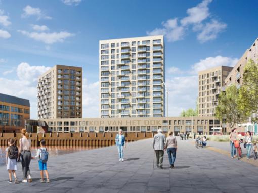 7 woningen + 183 appartementen, Vlissingen, Kop van het Dok
