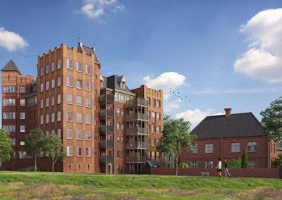 24 appartementen, 's Hertogenbosch, Kasteel Heesterburgh