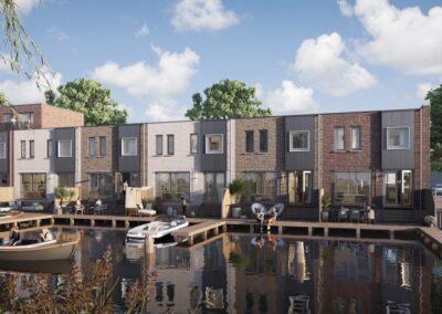 37 appartementen + 23 woningen, Goes, Ketelkade