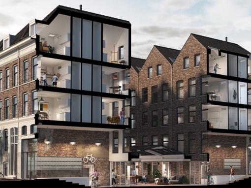 78 appartementen, Rotterdam, Maja