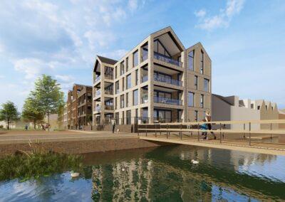 33 appartementen, Veenendaal, DOK6