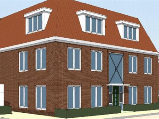 18 appartementen, Wormer, Spatterstraat