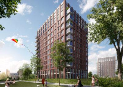 222 appartementen, Heemskerk, De Slotvrouwe