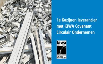 1e Kozijnen leverancier met KIWA Covenant Circulair Ondernemen