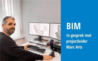 In gesprek met projectleider Marc Arts over BIM