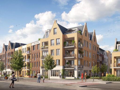 86 appartementen,  Rijnsburg, Hof van Rijnsburg