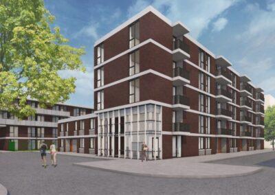 88 appartementen, Amsterdam, Bakemabuurt Blok 0,8 10a+b