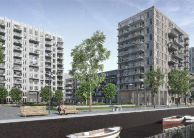 242 woningen, Amsterdam, SuHa Osdorp blok A+B