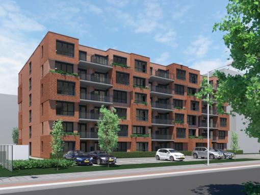 59 appartementen, Roermond, Bredeweg 237