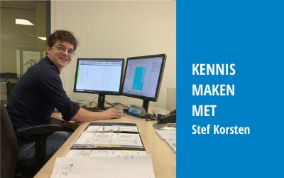 Kennismaken met Stef Korsten | Junior projectleider renovatie