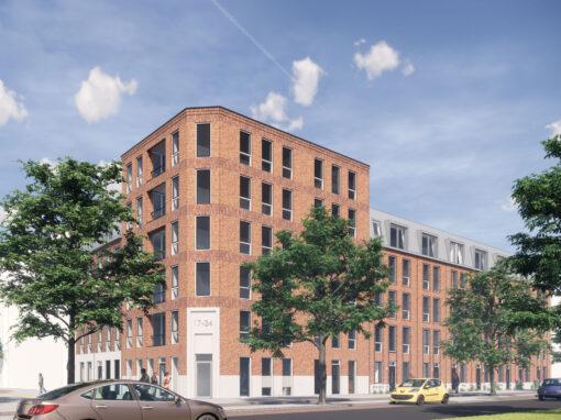 6 woningen + 32 appartementen, Rotterdam, Het Boezemhuys
