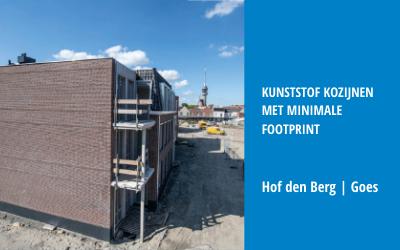 Kunststof kozijnen met minimale footprint voor Hof den Berg te Goes