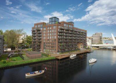 100 appartementen, Zaandam, 'De Industrieel'