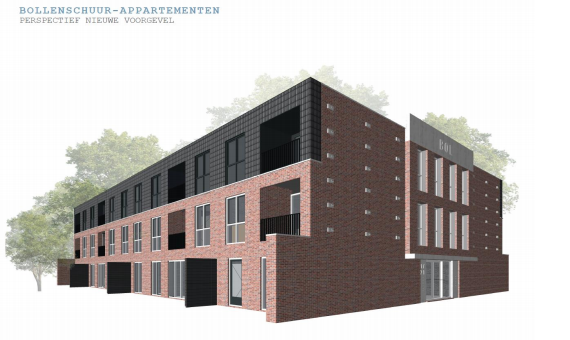 21 appartementen en 24 woningen, Noordwijkerhout, 'Schippervaartsweg'