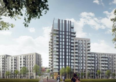 444 appartementen, Leiden, 'HOF 36 Lammenschans'
