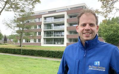 Een uitdagende job voor Thijs, dichtbij huis
